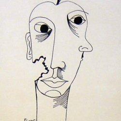 Surrealistic Portrait Of A Woman