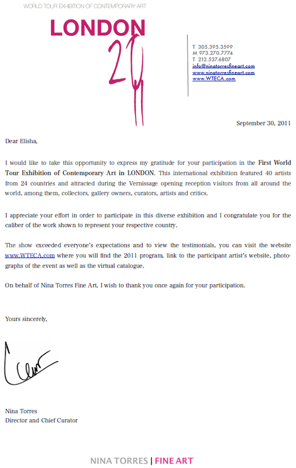 world-tour-exhibition-of-contemporary-art-london-appreciation-letter